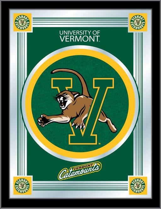 University of Vermont Bar Mirror | Man Cave Authority | MLogoVermnt