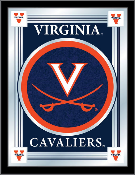 University of Virginia Bar Mirror | Man Cave Authority | MLogoVrgnia