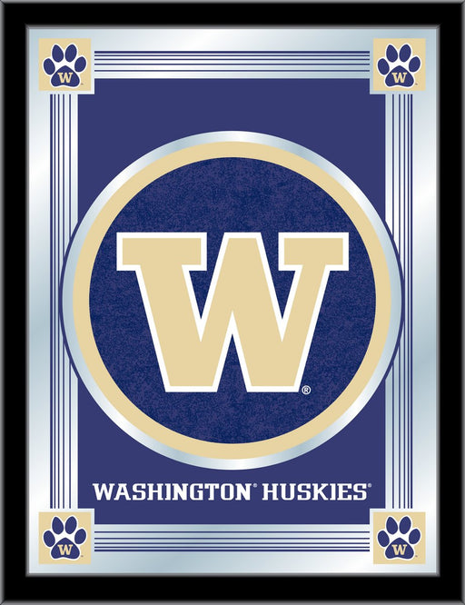 University of Washington Bar Mirror | Man Cave Authority | MLogoWashUn