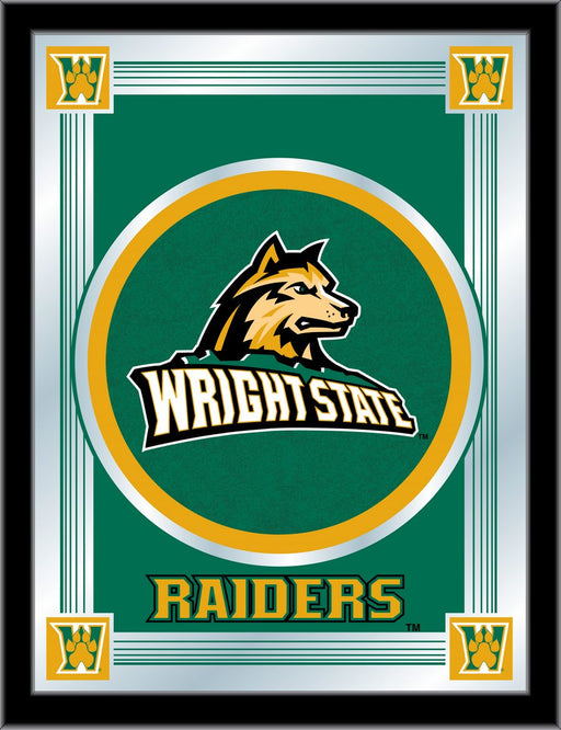 Wright State University Bar Mirror | Man Cave Authority | MLogoWrtStU