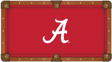 University of Alabama Custom Pool Table Cloth