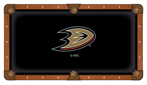 Superbe Anaheim Ducks Custom Pool Table Cloth | Man Cave Authority | PTC7AnaDks
