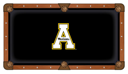 Appalachian State University Custom Pool Table Cloth | Man Cave Authority | PTC7AppStU