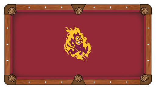 Arizona State University Custom Pool Table Cloth | Man Cave Authority | PTC7ArizSt
