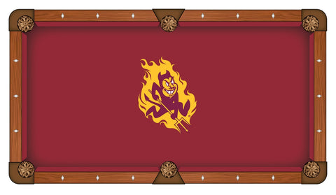Arizona State University Custom Pool Table Cloth