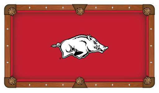 University of Arkansas Custom Pool Table Cloth | Man Cave Authority | PTC7ArknUn