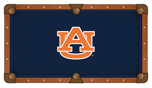 Auburn University Custom Pool Table Cloth | Man Cave Authority | PTC7Auburn