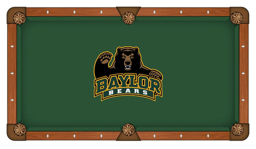 Baylor University Custom Pool Table Cloth | Man Cave Authority | PTC7Baylor