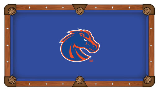 Boise State University Custom Pool Table Cloth | Man Cave Authority | PTC7BoiseS