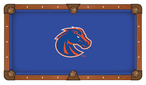 Boise State University Custom Pool Table Cloth
