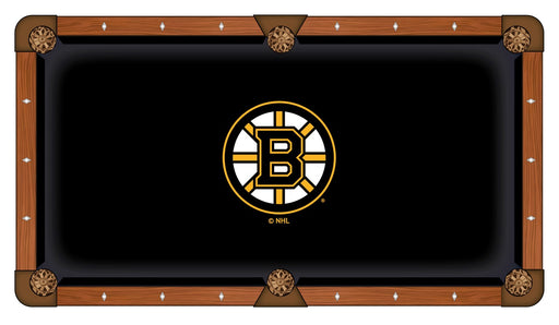 Boston Bruins Custom Pool Table Cloth | Man Cave Authority | PTC7BosBru