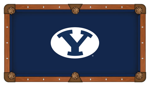 Brigham Young University Custom Pool Table Cloth
