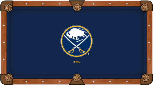 Buffalo Sabres Custom Pool Table Cloth | Man Cave Authority | PTC7BufSab