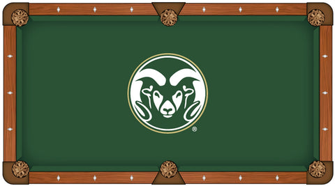 Colorado State University Custom Pool Table Cloth