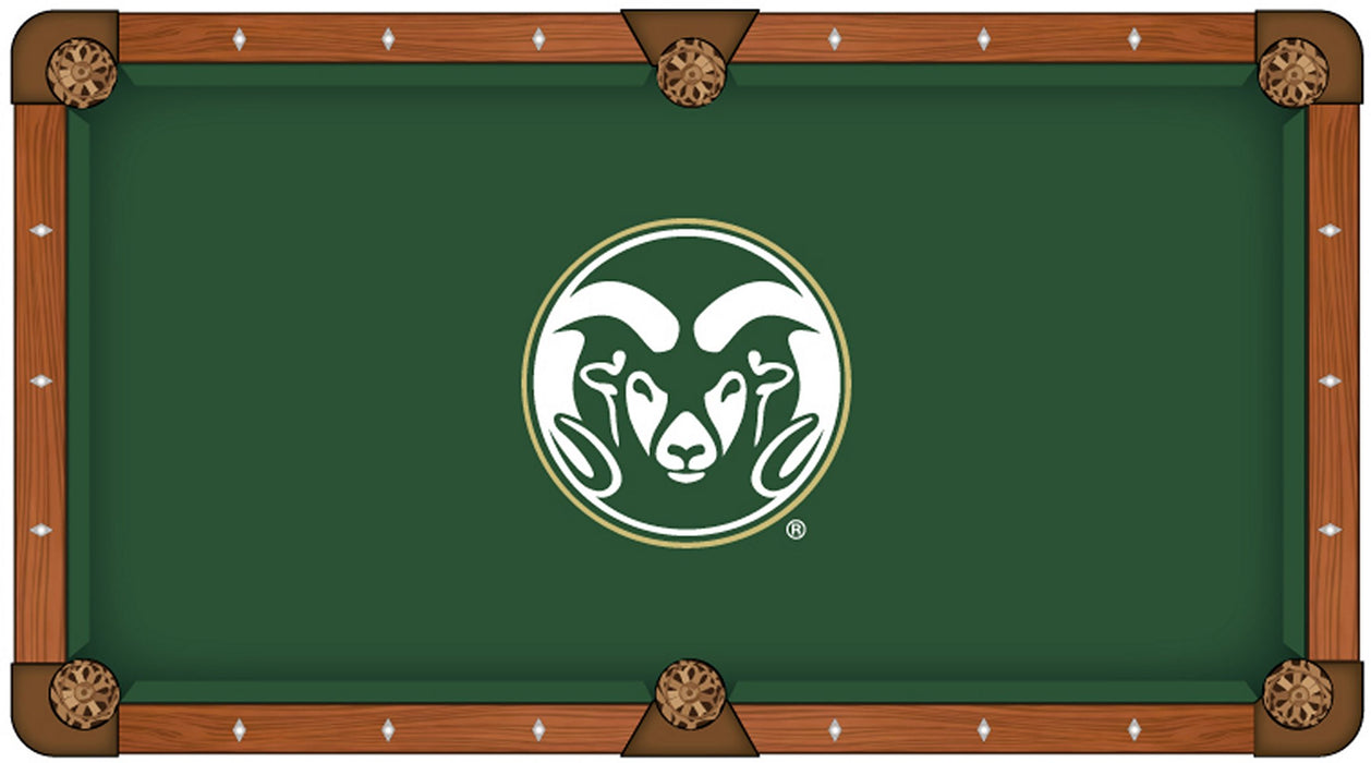 Colorado State University Custom Pool Table Cloth | Man Cave Authority | PTC7ColoSt