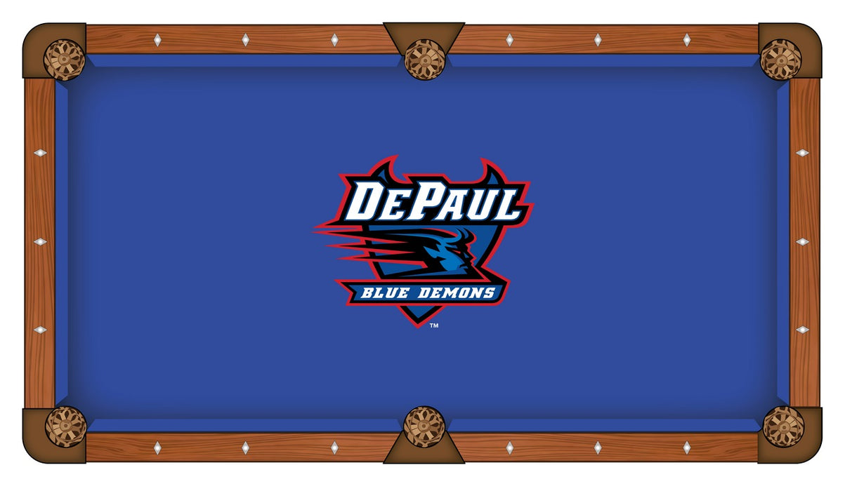 DePaul University Custom Pool Table Cloth | Man Cave Authority | PTC7DePaul