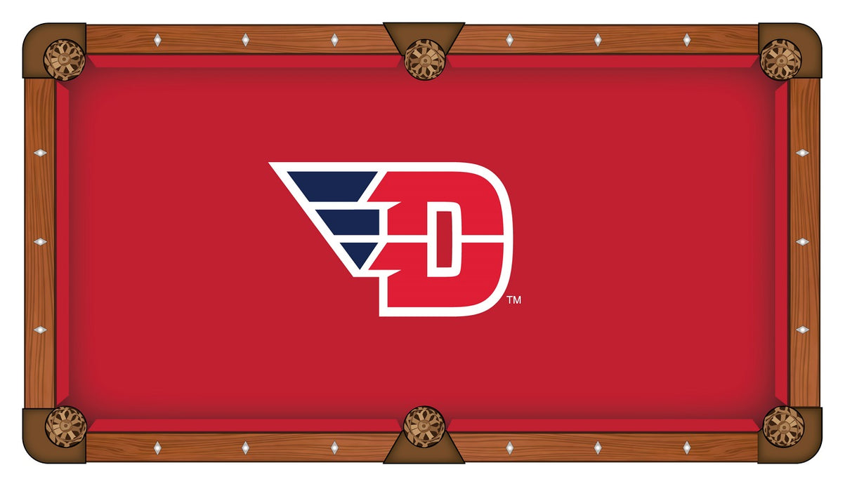 University of Dayton Custom Pool Table Cloth | Man Cave Authority | PTC7DytnUn