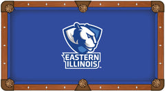 Eastern Illinois University Custom Pool Table Cloth | Man Cave Authority | PTC7EastIL