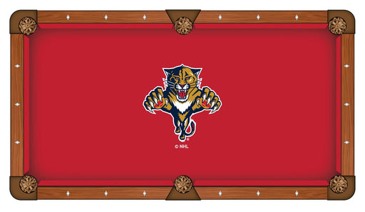Florida Panthers Custom Pool Table Cloth | Man Cave Authority | PTC7FlaPan