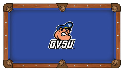 Grand Valley State University Custom Pool Table Cloth | Man Cave Authority | PTC7GVStUn
