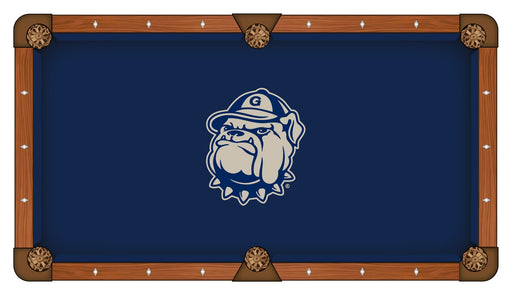 Georgetown University Custom Pool Table Cloth | Man Cave Authority | PTC7Grgtwn