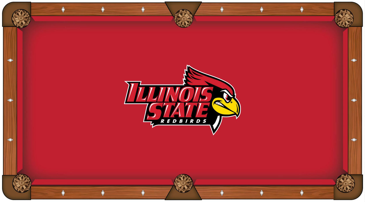 Illinois State University Custom Pool Table Cloth | Man Cave Authority | PTC7IllStU