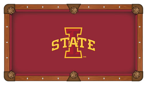 Iowa State University Custom Pool Table Cloth | Man Cave Authority | PTC7IowaSt