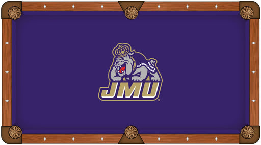 James Madison University Custom Pool Table Cloth | Man Cave Authority | PTC7JmsMad
