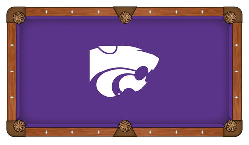 Kansas State University Custom Pool Table Cloth | Man Cave Authority | PTC7KnsasS