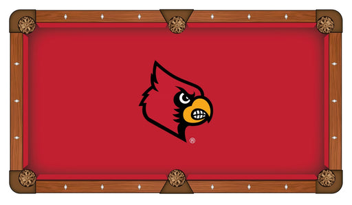 University of Louisville Custom Pool Table Cloth | Man Cave Authority | PTC7Lville