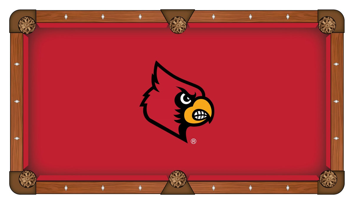 University Of Louisville Pool Table Cloth Billiard Felt By - Custom logo pool table felt