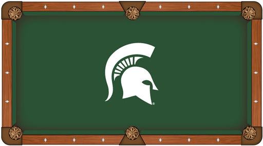 Michigan State University Custom Pool Table Cloth | Man Cave Authority | PTC7MichSt