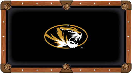 University of Missouri Custom Pool Table Cloth | Man Cave Authority | PTC7Mizzou