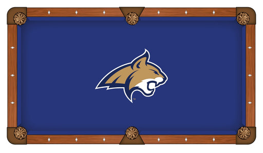 Montana State University Custom Pool Table Cloth | Man Cave Authority | PTC7MontSt