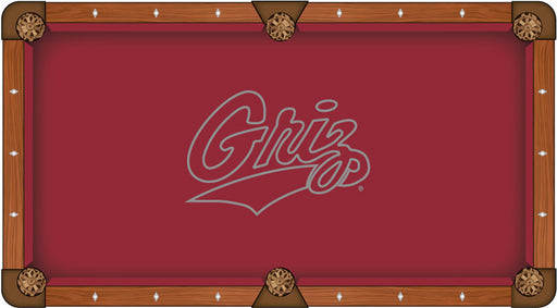 University of Montana Custom Pool Table Cloth | Man Cave Authority | PTC7MontUn