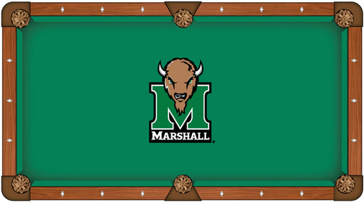 Marshall University Custom Pool Table Cloth | Man Cave Authority | PTC7Mrshll
