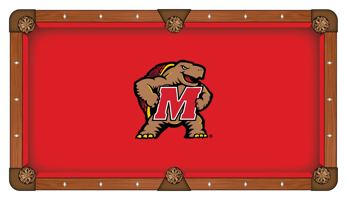 University Of Maryland Pool Table Cloth Billiard Felt By - Pool table stores in maryland