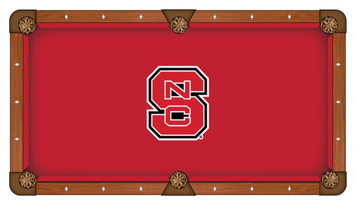 North Carolina State University Custom Pool Table Cloth | Man Cave Authority | PTC7NCarSt