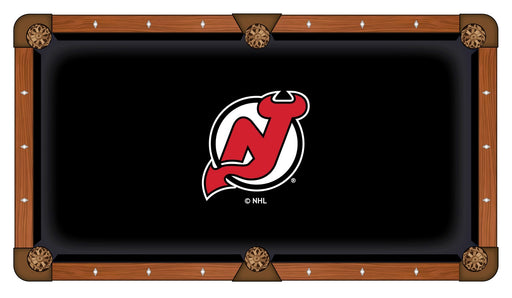New Jersey Devils Custom Pool Table Cloth | Man Cave Authority | PTC7NJDevl