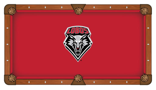 University of New Mexico Custom Pool Table Cloth | Man Cave Authority | PTC7NewMex