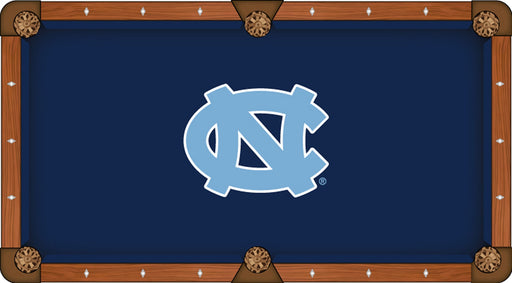 University of North Carolina Custom Pool Table Cloth | Man Cave Authority | PTC7NorCar