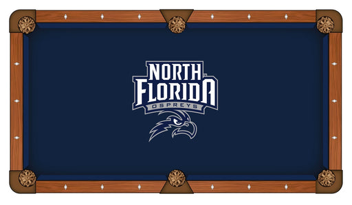 University of North Florida Custom Pool Table Cloth | Man Cave Authority | PTC7NorFla