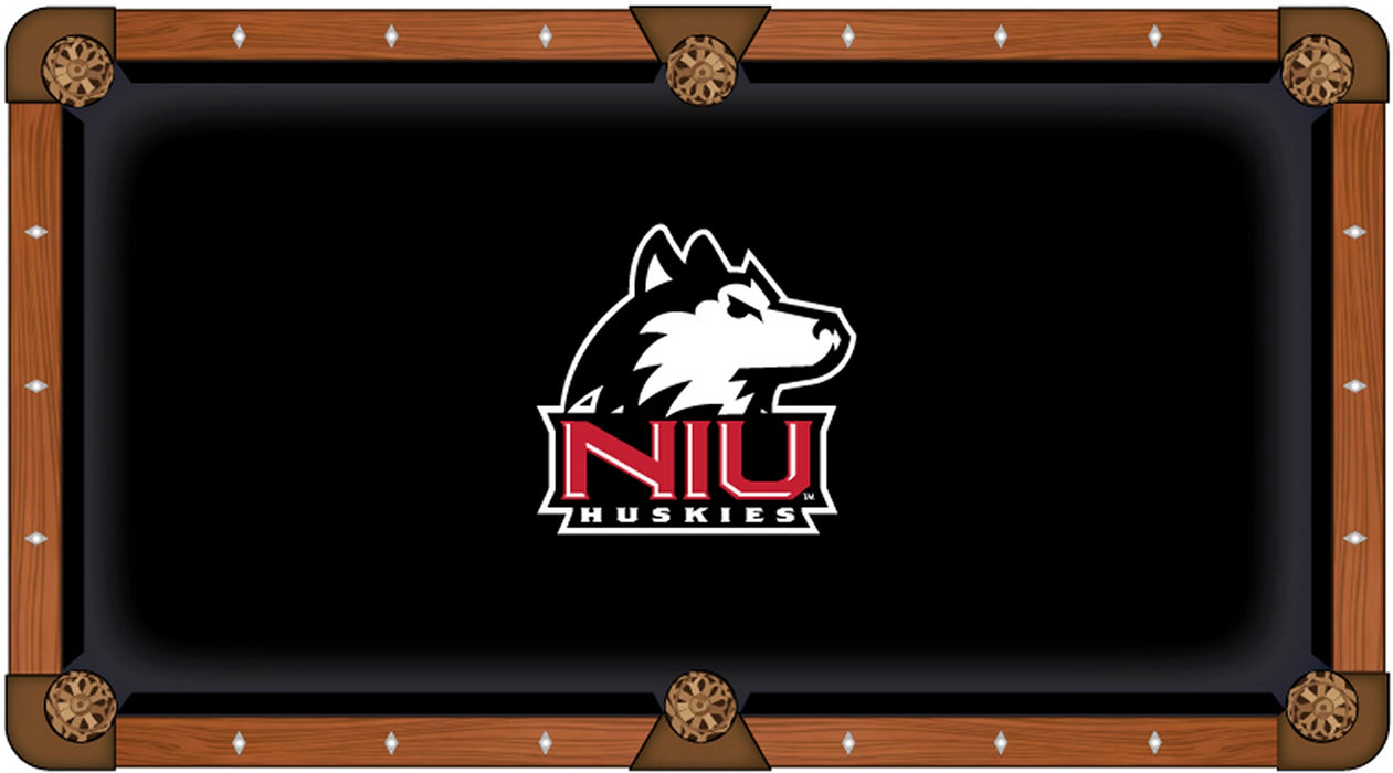 University of Northern Illinois Custom Pool Table Cloth | Man Cave Authority | PTC7NorIll