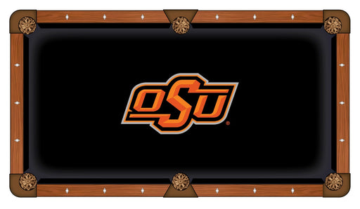 Oklahoma State University Custom Pool Table Cloth | Man Cave Authority | PTC7OKStUn