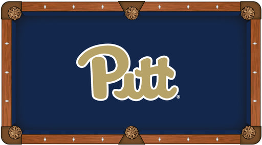 University of Pittsburgh Custom Pool Table Cloth | Man Cave Authority | PTC7Pittsb