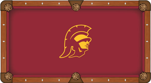 University of Southern California Custom Pool Table Cloth | Man Cave Authority | PTC7SouCal