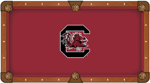University of South Carolina Custom Pool Table Cloth | Man Cave Authority | PTC7SouCar