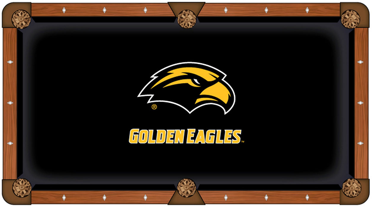 University of Southern Mississippi Custom Pool Table Cloth | Man Cave Authority | PTC7SouMis