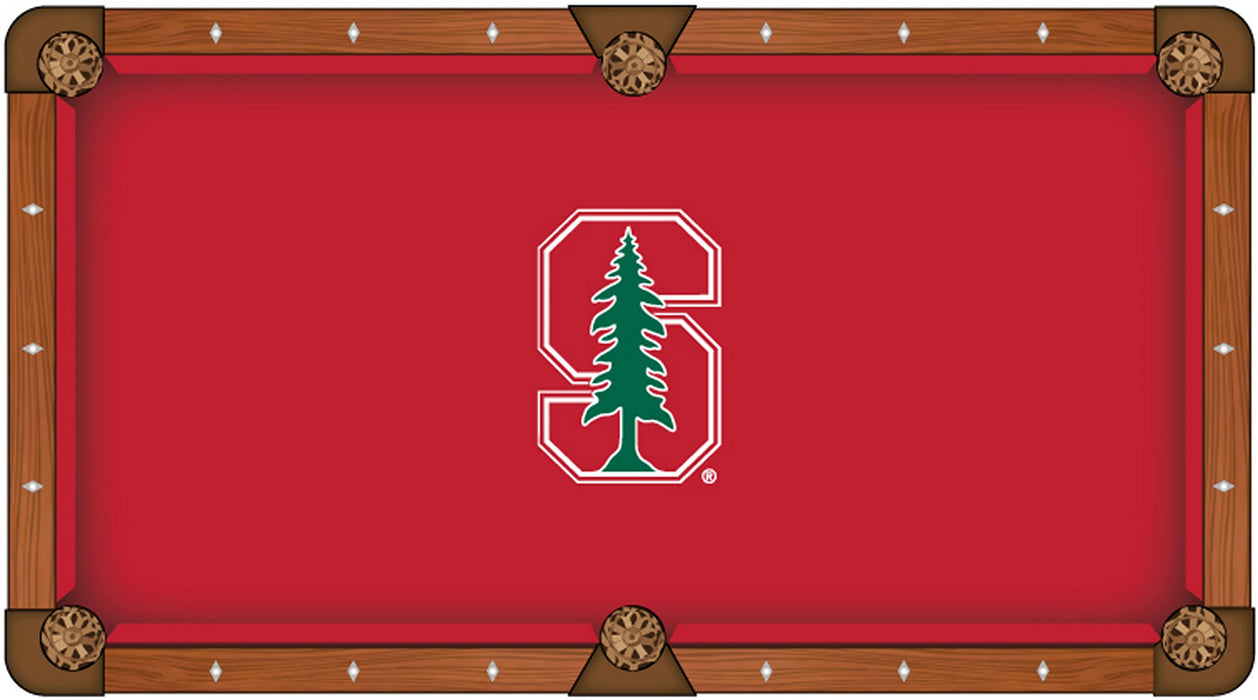 Stanford University Custom Pool Table Cloth | Man Cave Authority | PTC7Stnfrd
