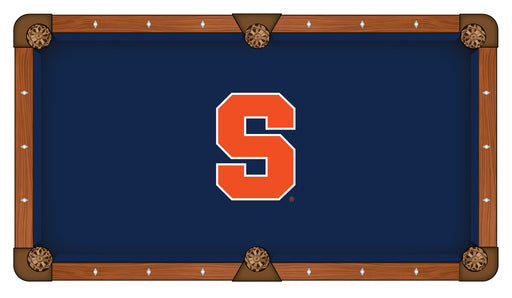 Syracuse University Custom Pool Table Cloth | Man Cave Authority | PTC7Syrcse